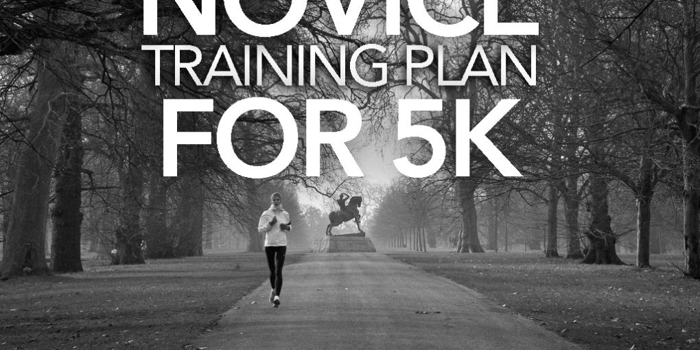 NOVICE TRAINING PLAN FOR 5K