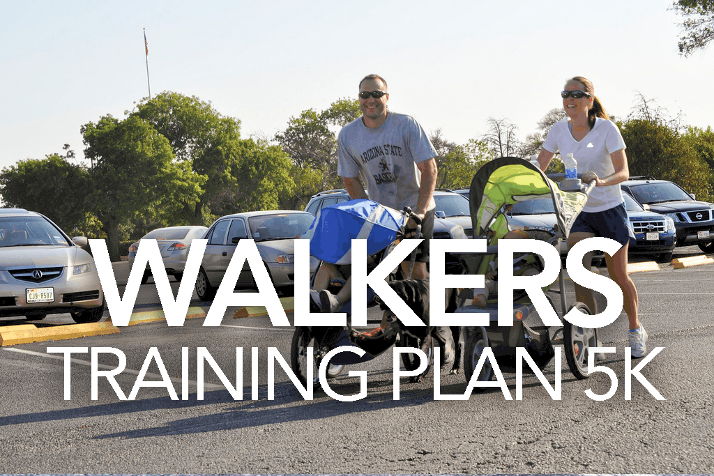 WALKERS TRAINING PLAN 5K