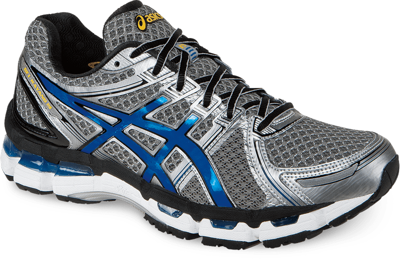 THE 5 Best Running Shoes for Flat Feet starts with the Asics Gel Kayano