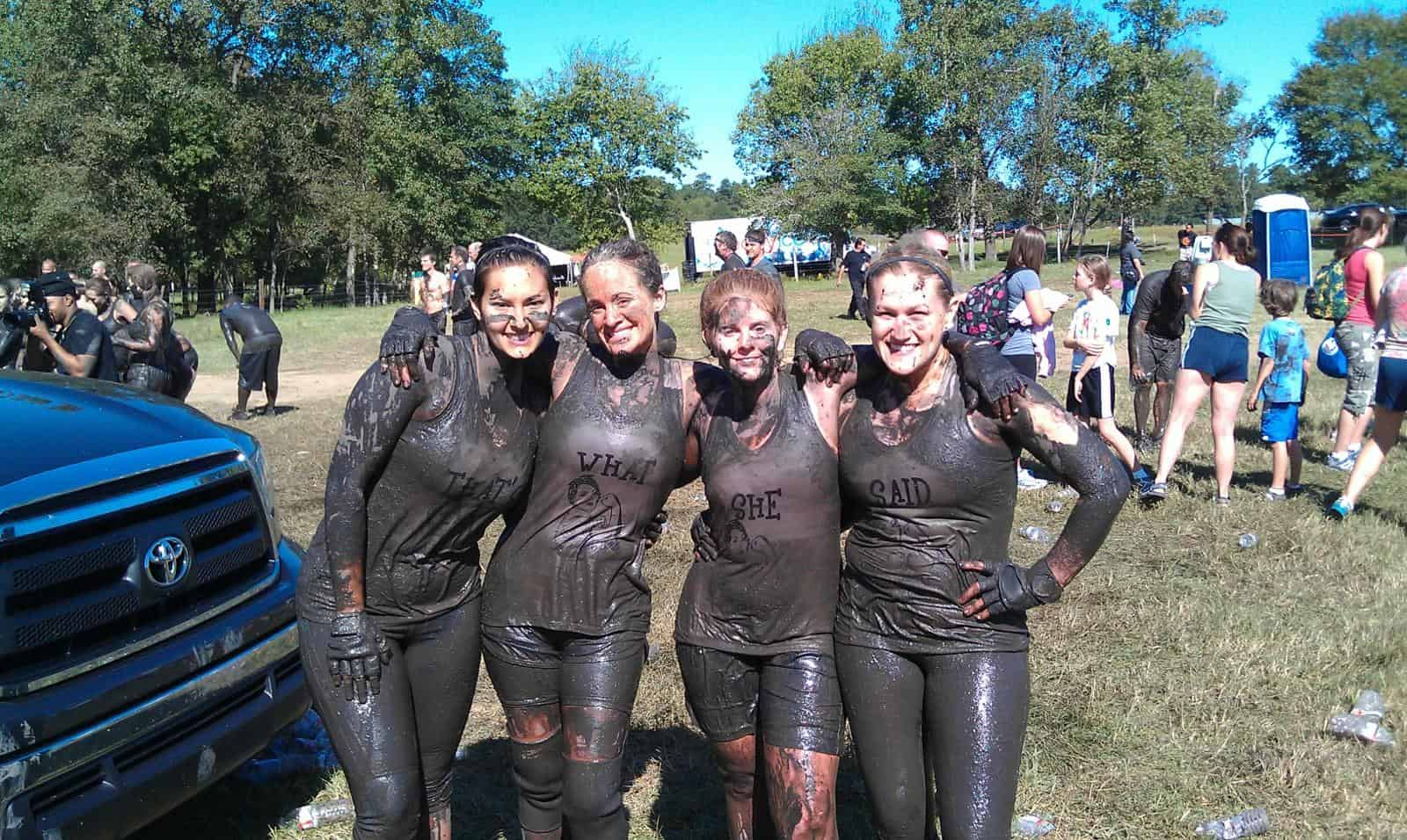 Post Mud Run Photos  Are the Best