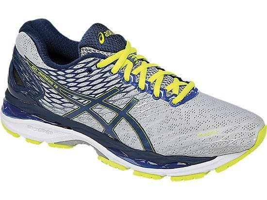The Top 7 Shoes for Plantar Fasciitis includes the Asics Gel-Nimbus 18
