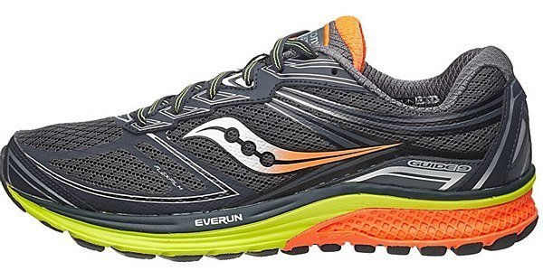The Top 7 Shoes for Plantar Fasciitis includes the Saucony Guide 9