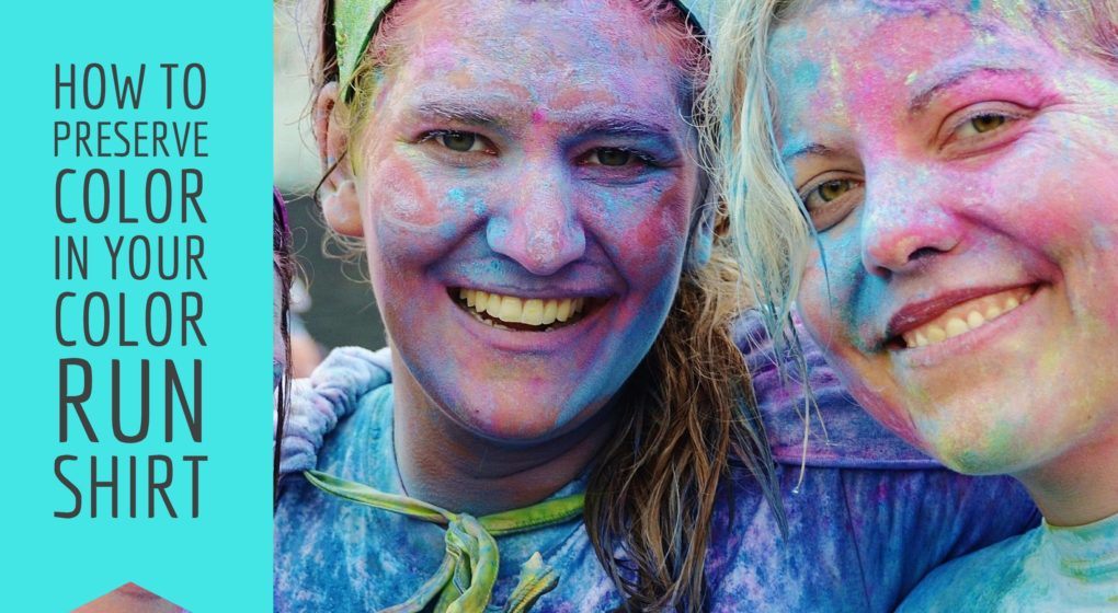 Worn color run shirts serve as a wonderful momento after a fun running experience. We break down in step-by-step instructions how to preserve color in color run shirt