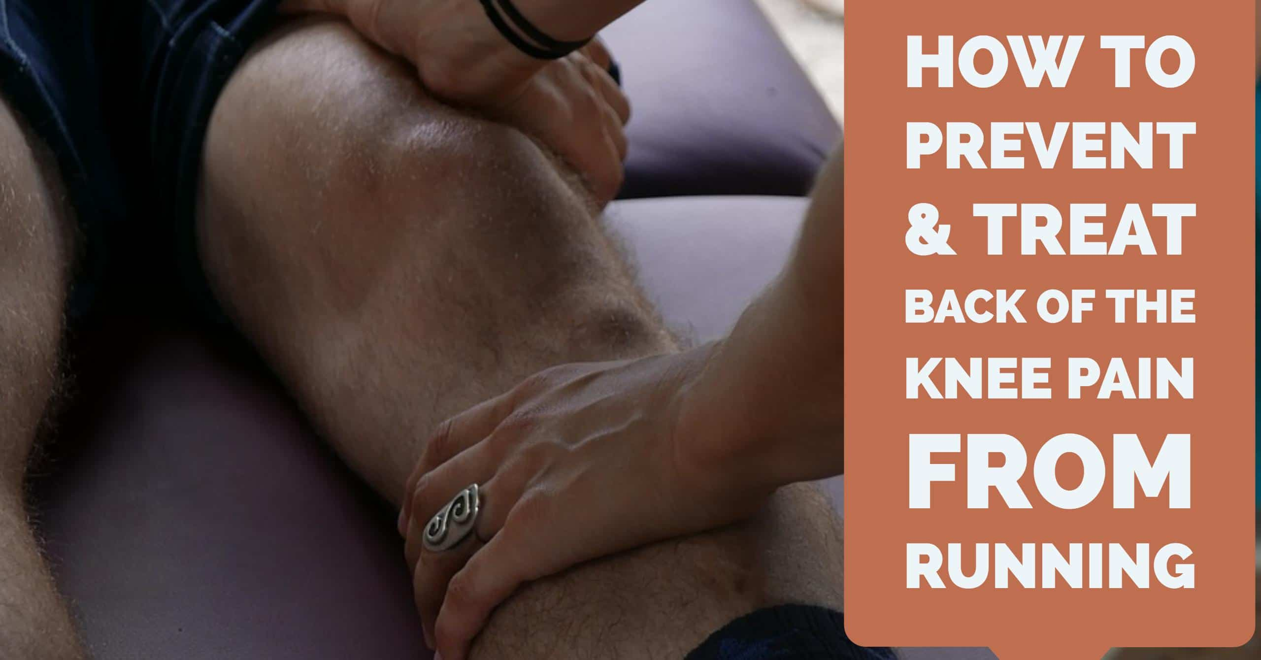 Knee pain from running can be one of the disappointing injuries to runners especially if it radiates from the back of your knee. We break down how to prevent & treat back of the knee pain from running.