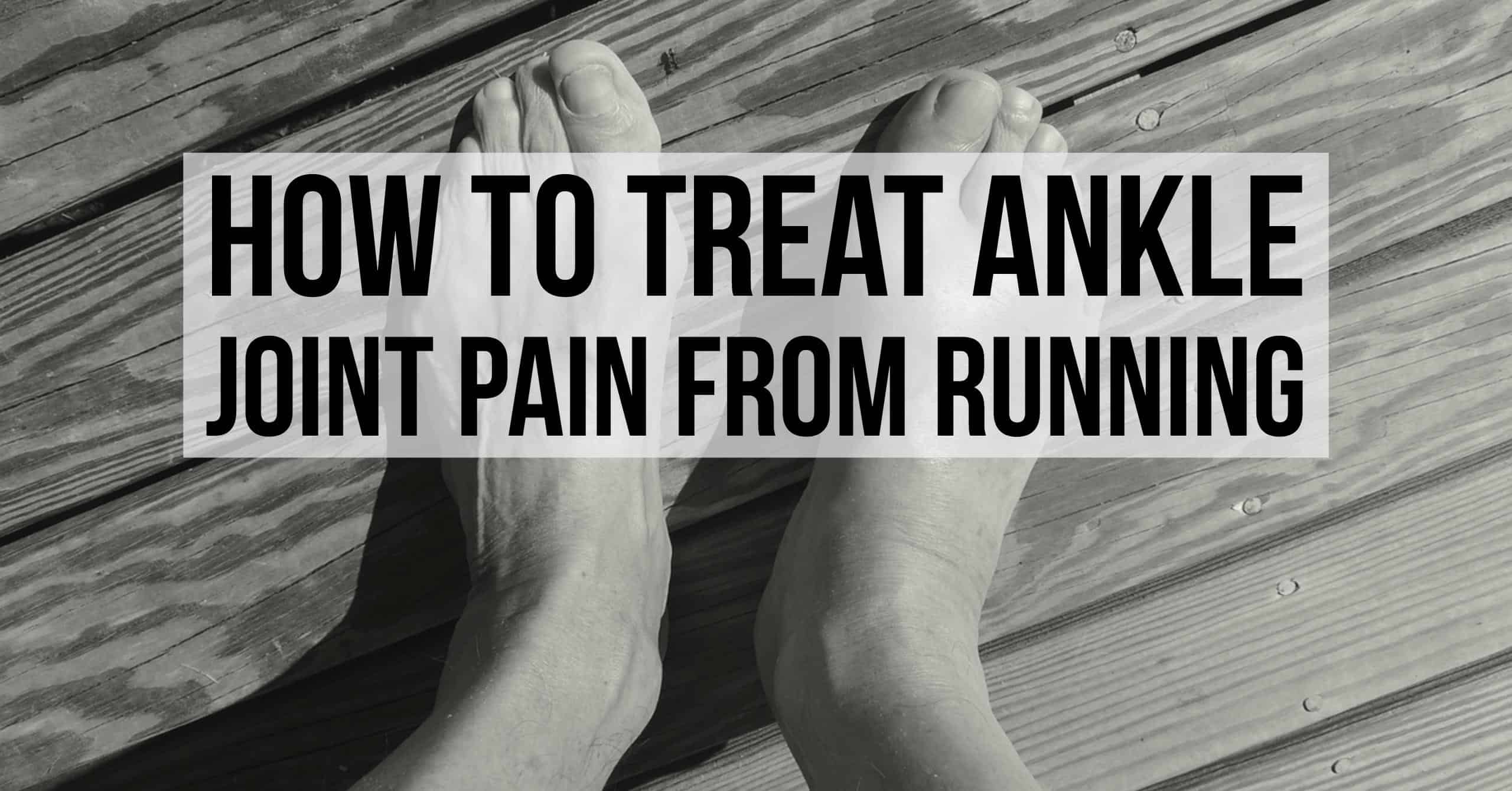 Most of ankle injuries by runners involve Achilles tendinitis or sprains. A lot of the pain radiates from ankle joint pain. We break down how to treat ankle joint pain from running with several at-home remedies