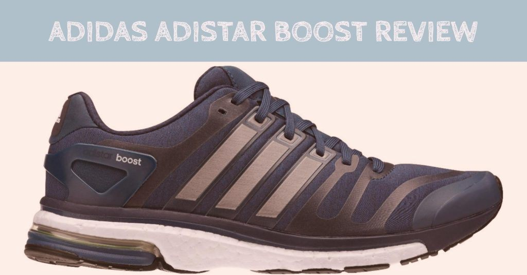 Adistar Boost M Grey Running Shoes
