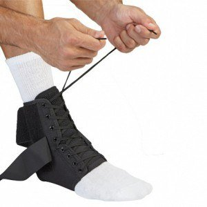 McDavid 195 Ankle Brace with Stabilizer Straps