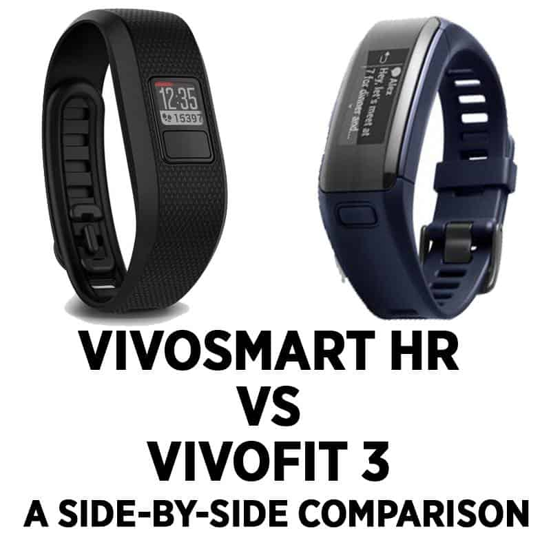 Garmin has been kicking major booty in the wearable tech space for a while now. There line of GPS watches continues to grow with different features and styles. We review & compare two of their newest ones: Vivosmart HR vs Vivofit 3