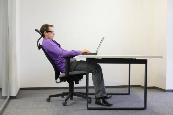 tension in hamstrings from sitting