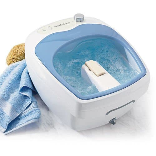 Brookstone Heated Aqua-Jet Foot Spa review