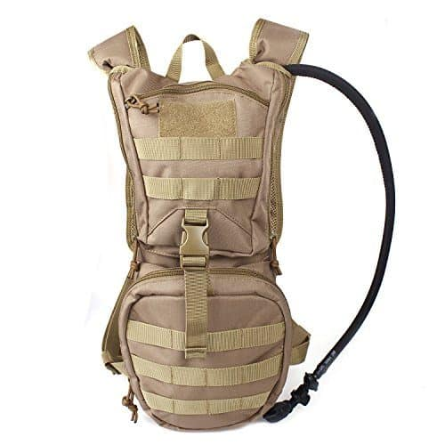 Tactical Hydration Pack with a 2.5L Hydration Bladder review