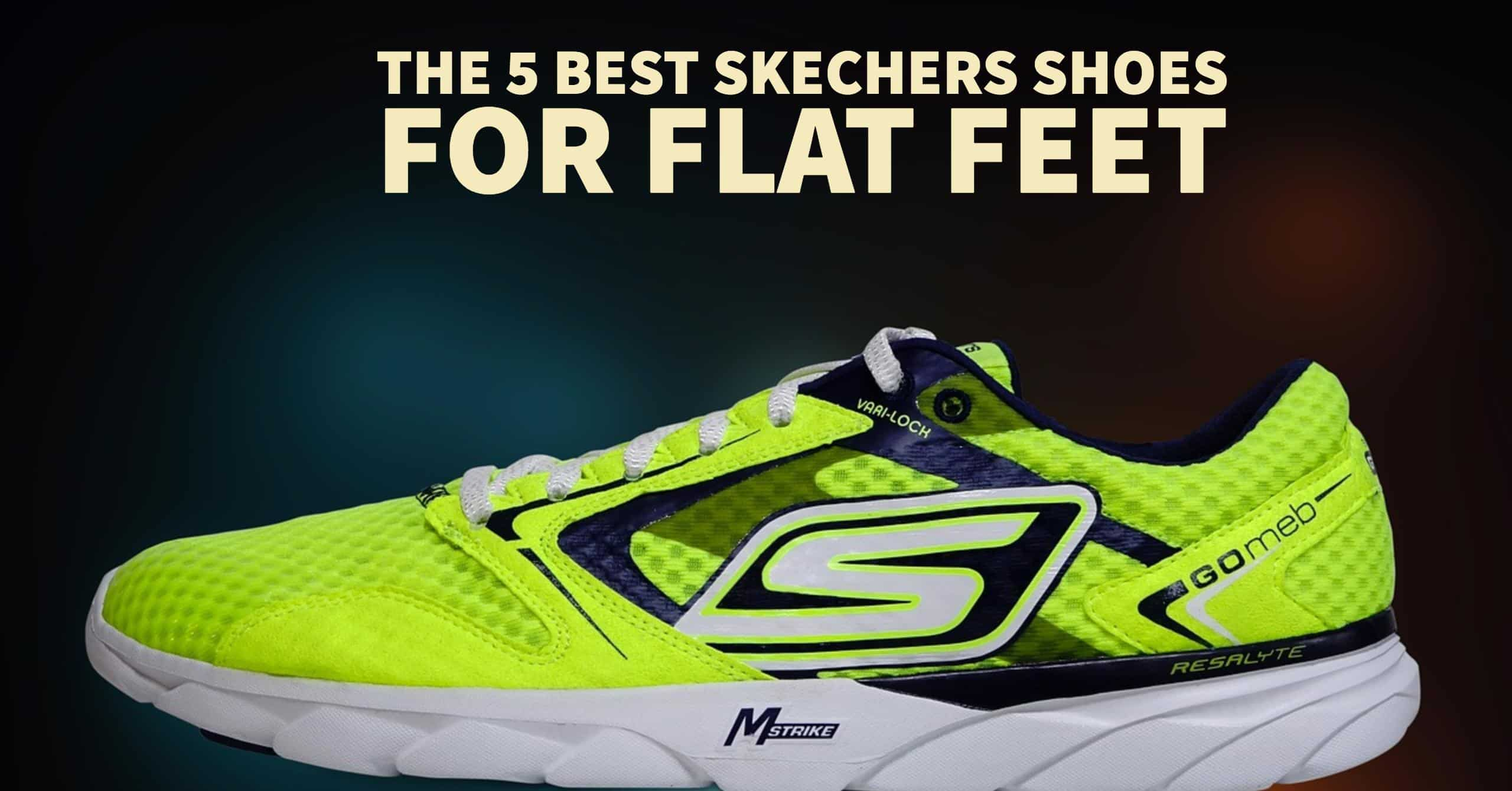Skechers have quickly ascended to the conversation of good running shoes. Here are the 5 best skecher shoes for flat feet.