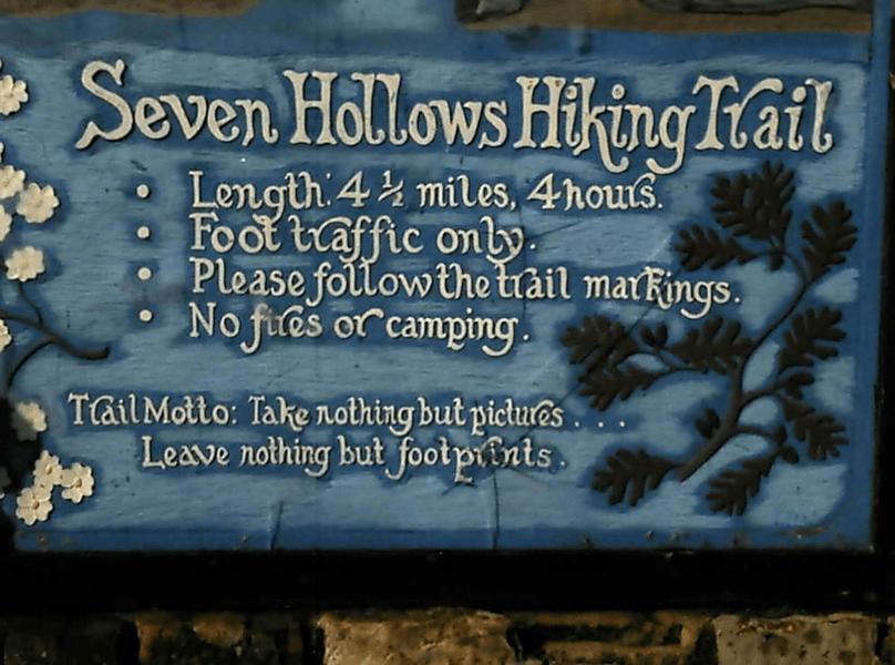 Seven Hollows Trail