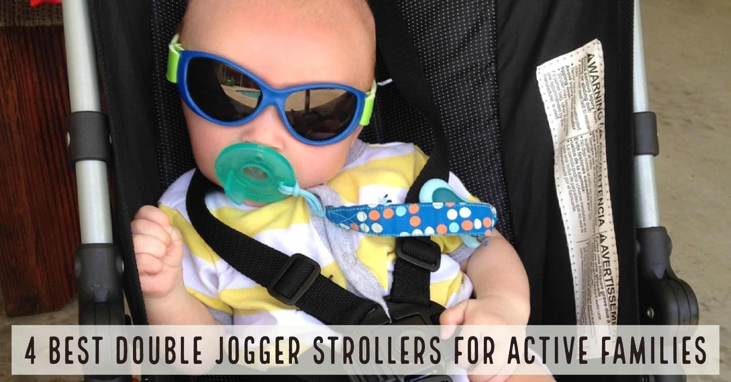 The 4 Best Double Jogger Strollers for active families