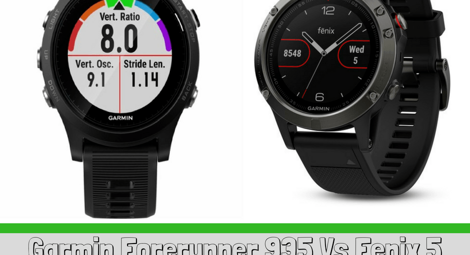 Their line of Garmin GPS watches consist of 8 types of models, which all have their primary features and own separate unique factors. This article gives information on the two most popular watches, pros/cons, and compare and contrast between the two - Garmin Forerunner 935 vs Fenix 5