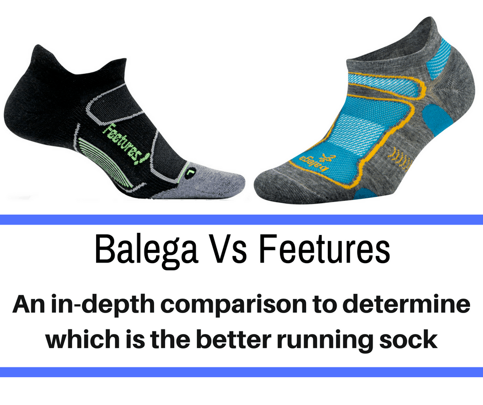 Wearing the right socks are a necessity when it comes to sustaining a run. Proper running socks help protect the feet from blisters and fatigue. we break down the two most popular running socks - Balega vs Feetures