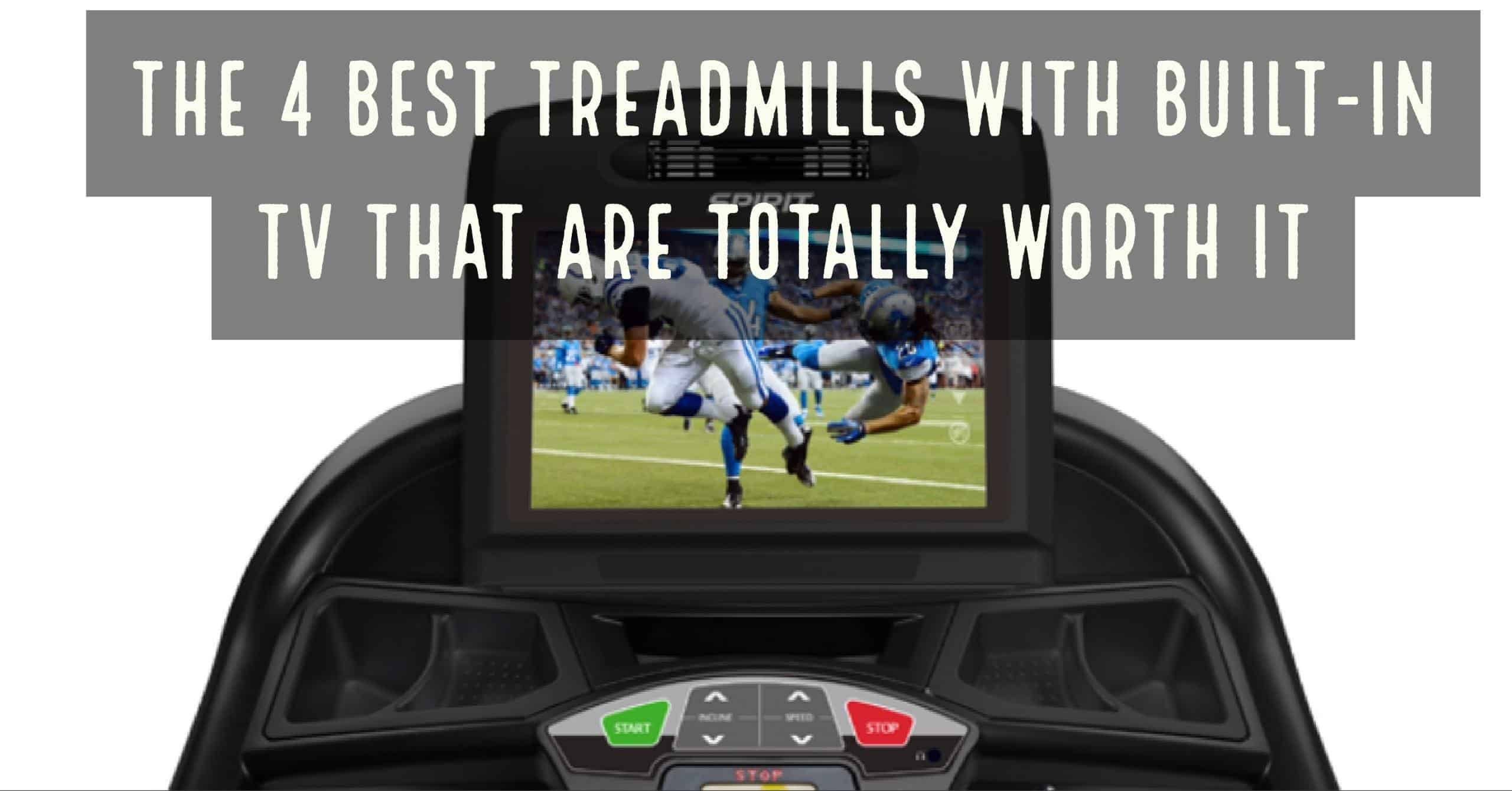 Exercising on a treadmill has its benefits. It is an excellent tool to use during inclement weather and outside workouts are not an option. Treadmill work is monotonous and can turn boring, which hampers with motivation. That is why many have built-in TVs or LCD screens - here are the 4 best with built-in TVs.