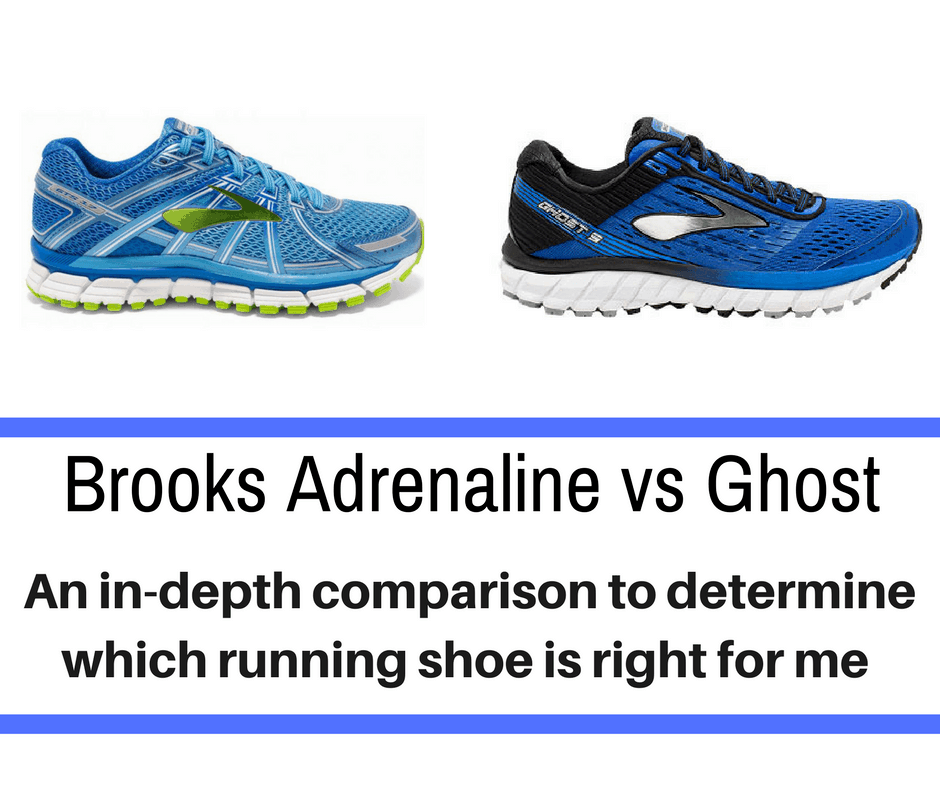 Brooks Adrenaline vs Ghost