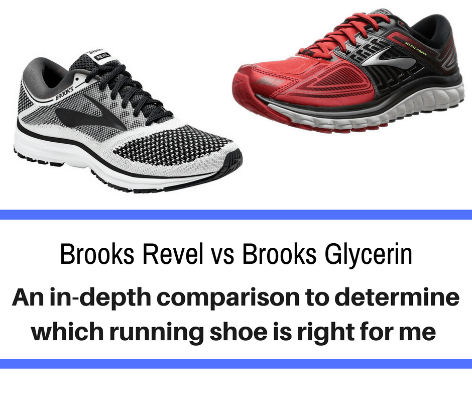 Brooks Revel vs Glycerin