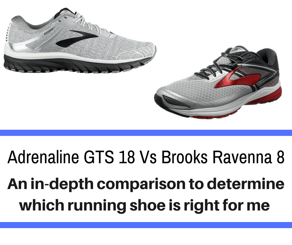 ce3e230c63b Brooks Adrenaline vs Ravenna – Explaining the Difference - Train for ...