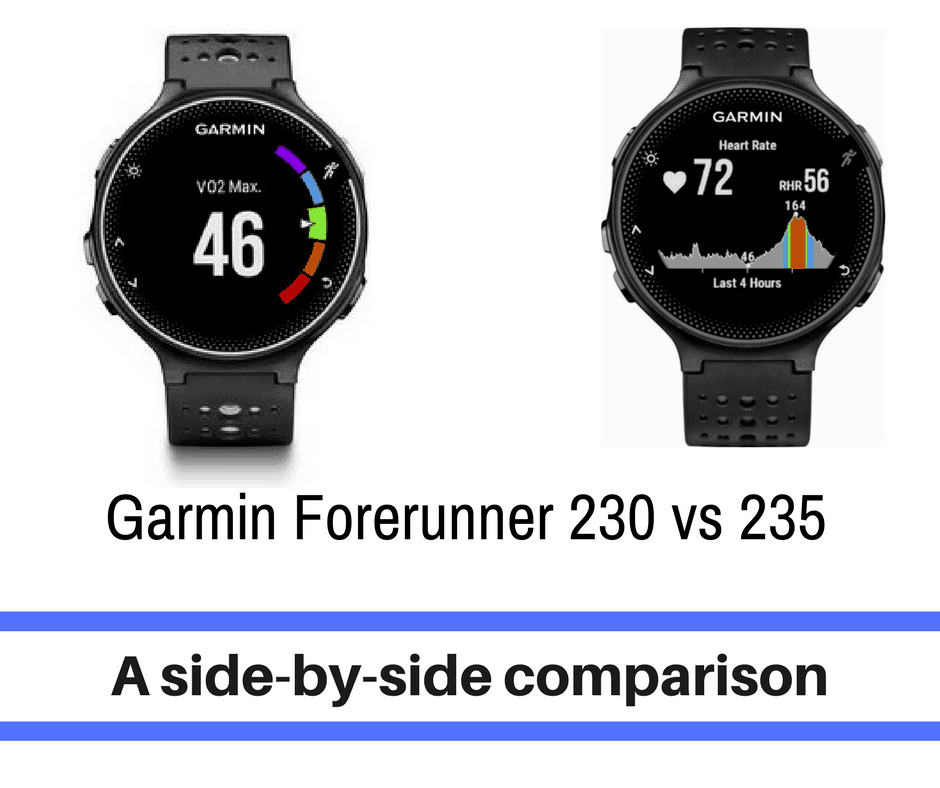 This article compares and contrasts the Garmin Forerunner 230 vs 235 models. Including basic information on the watches, customer comments, and a final verdict.