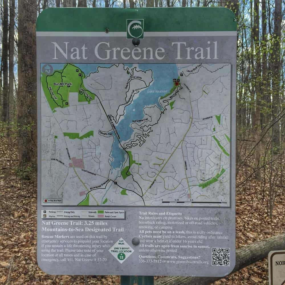NAT GREENE TRAIL