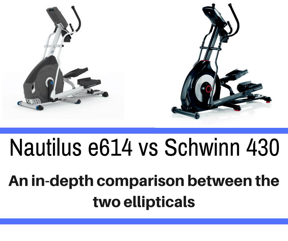 85f9120767c Nautilus e614 vs Schwinn 430 – Detailing the Differences - Train for ...