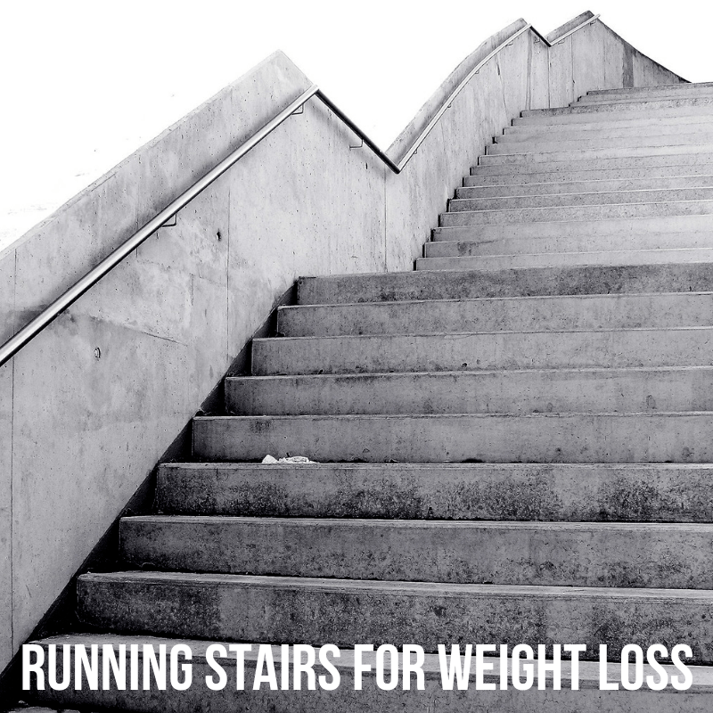 Running stairs for weight loss