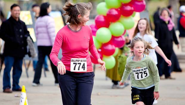 Running with kids at a 5K race can be very stressful especially if there are a lot of participants in the race. It's one of the top reasons why you should run a virtual 5K